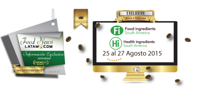 Food Ingredients South America 2015: 25-27 Agosto 2015 - Brasil